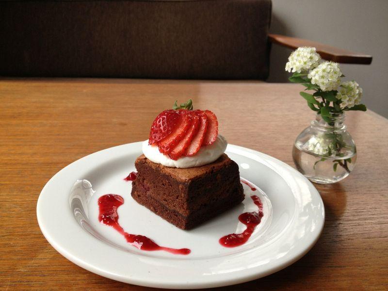 チョコラズベリーケーキ