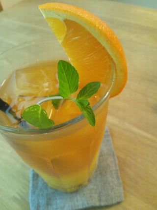 Orange icetea